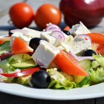 Graikiškos salotos/Greek salad